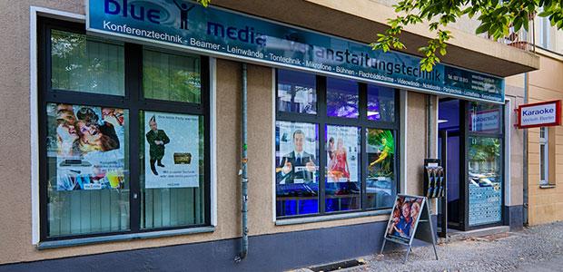 blue media Veranstaltungstechnik Vermietung