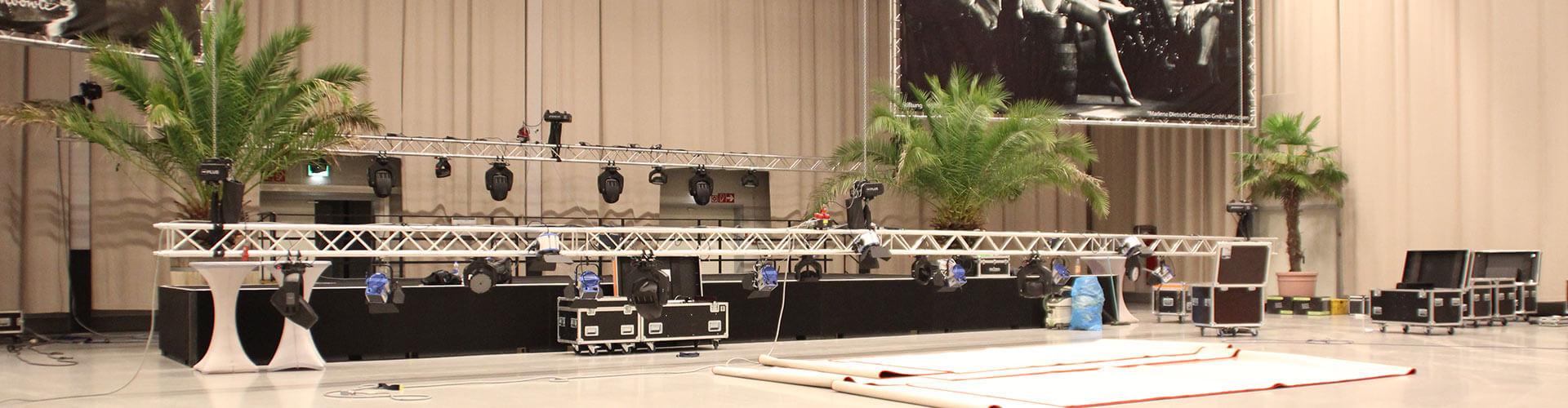 Bühnenlicht mieten