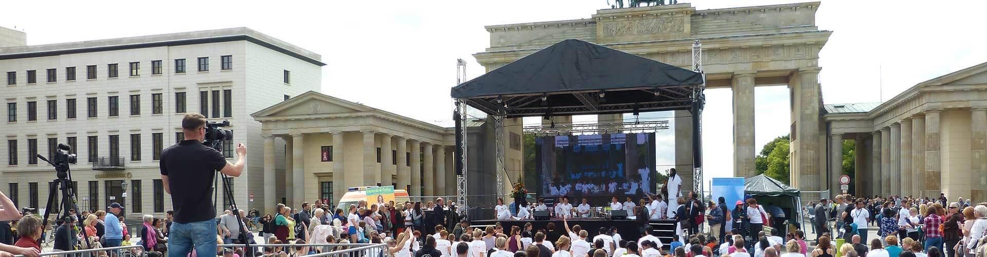 Bühne mieten in Berlin
