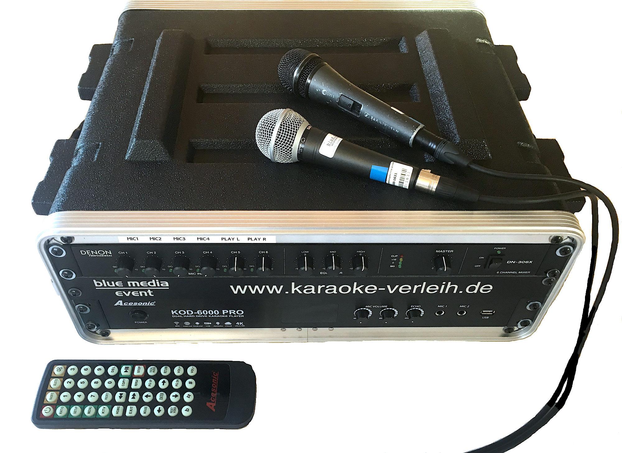 karaokeanlage mieten Verleih Berlin Karaoke Jukebox