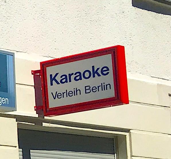 Karaoke Verleih Berlin mieten Karaokeanlage ausleihen