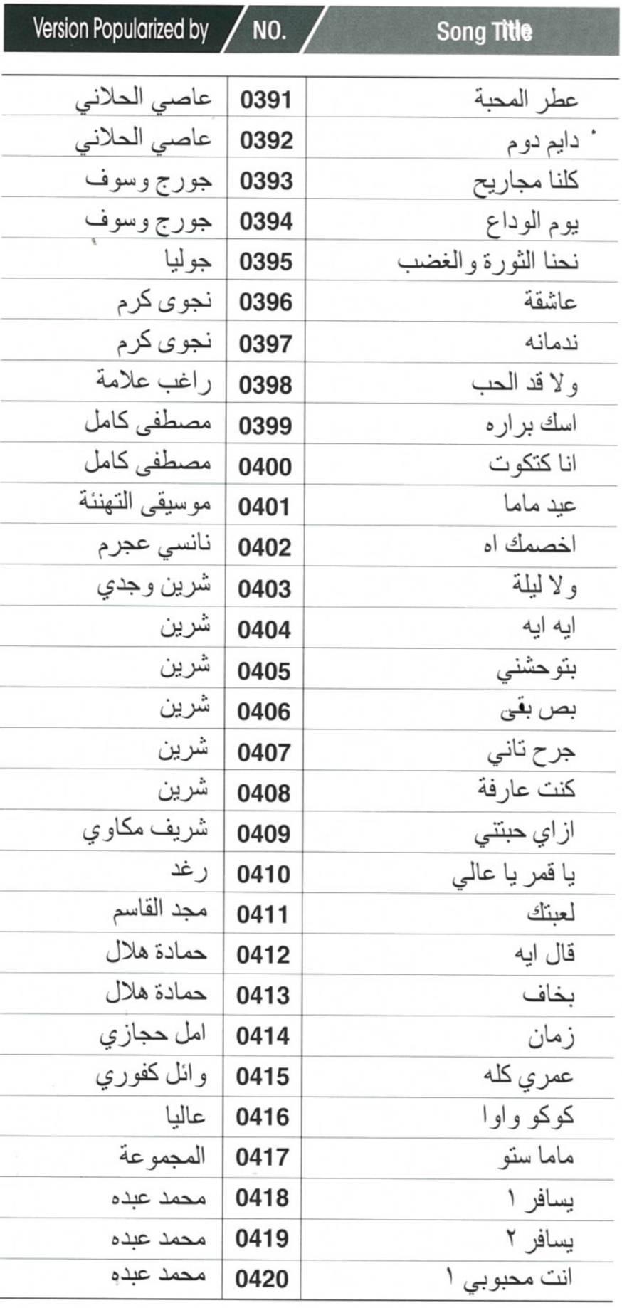 arabische Karaoke mieten Berlin rental