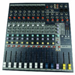 Mischpult rental mixer Berlin 12-Kanal Soundcraft