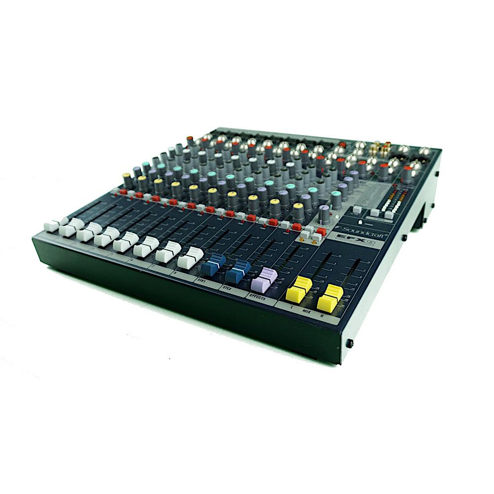 Mischpult Mixer Berlin 12-Kanal Soundcraft