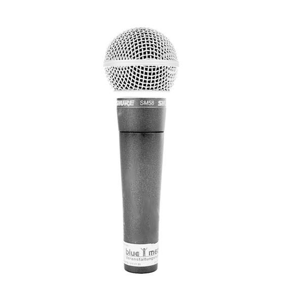 Shure SM 58 Mikrofon mieten Verleih Berlin