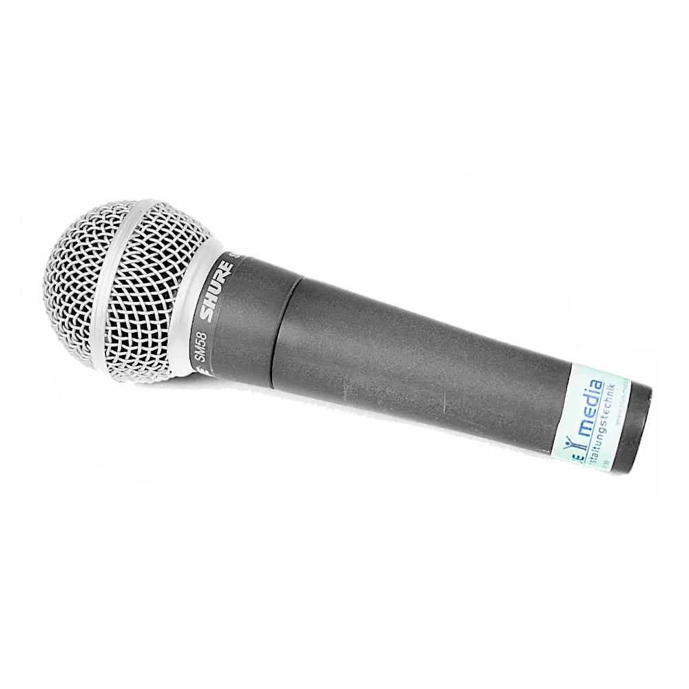 Shure SM58 Mikrofon mieten Verleih Berlin