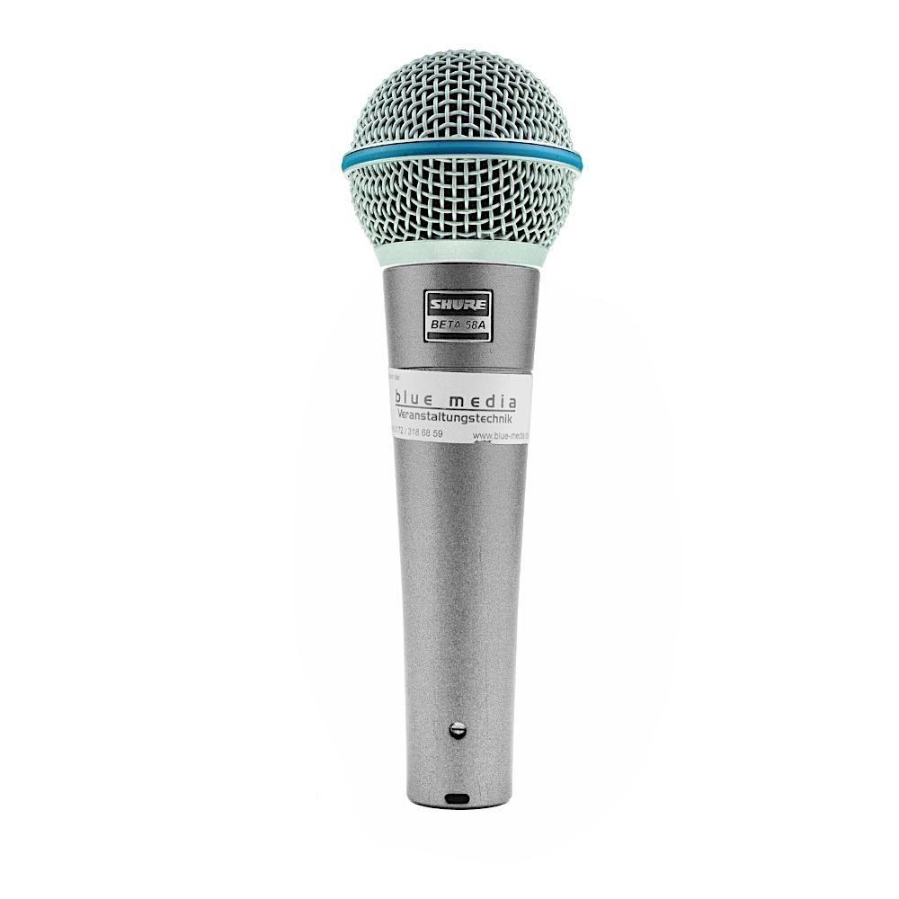 Beta 58 Shure Mikrofon mieten Verleih Berlin