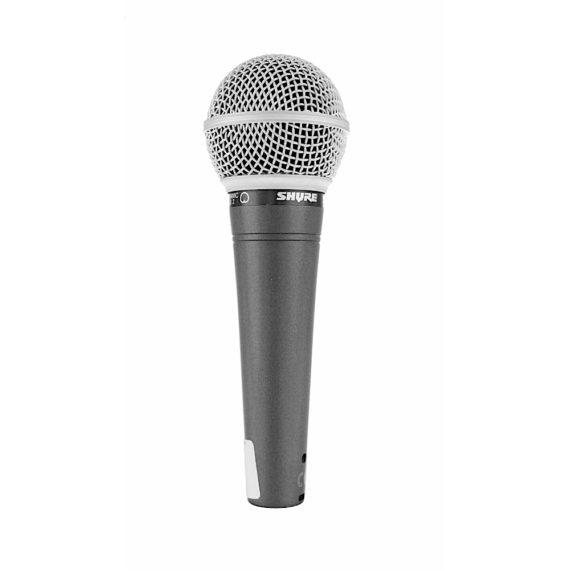 Shure SM48 Mikrofon mieten Verleih Berlin